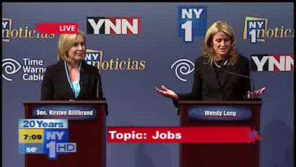 Gillibrand vs. Long for U.S. Senate in New York