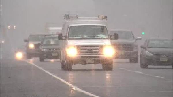 Nor'easter: Driving around Tri-state area