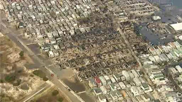Breezy Point firefighters aiding Sandy victims on and off the job