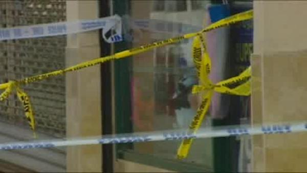 Person being questioned in shopkeeper murders.