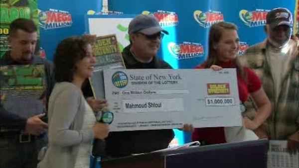 Lottery winners helping Sandy victims