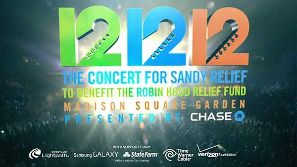121212 The Concert for Sandy Relief