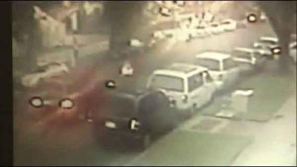 Gut-wrenching hit and run caught on camera