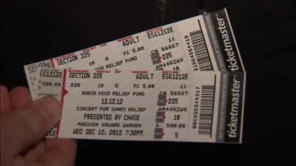 Scalpers selling 121212 concert tickets for thousands