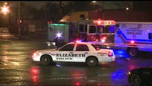A pedestrian is killed in a hit and run accident in Elizabeth, New Jersey
