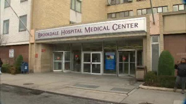 A woman was murdered outside a Brooklyn hospital