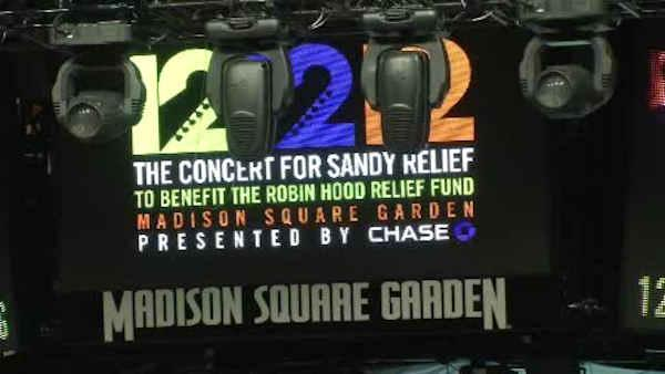 121212 concert to rock MSG, raise money