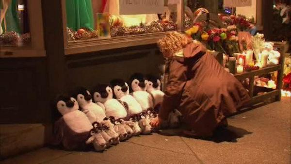 Days after shooting, many lending support to Newtown