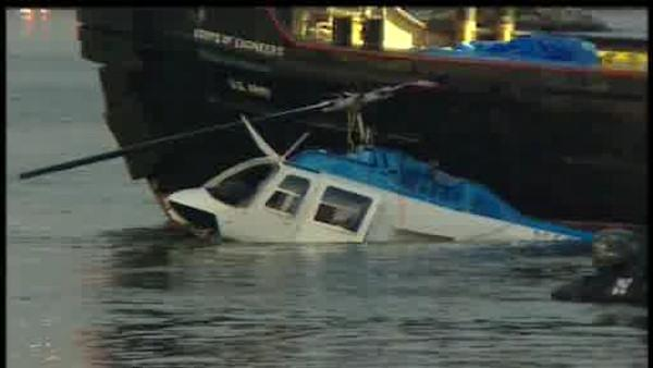 NTSB says helicopter overloaded in East River crash