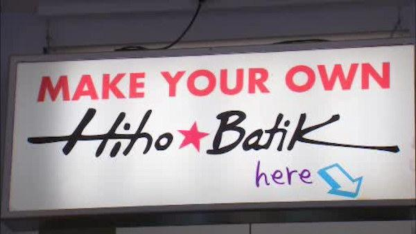 Do it yourself Batik Bar