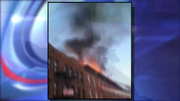 Flatbush fire burns row of houses