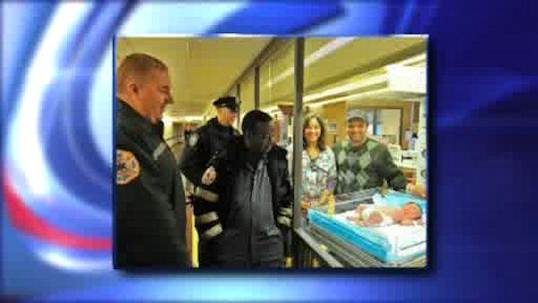 Baby boy delivered in the Holland Tunnel during rush-hour