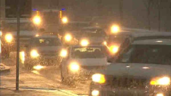 Winter weather shuts down area roads
