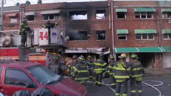3-alarm house fire leaves 3 dead in the Bronx