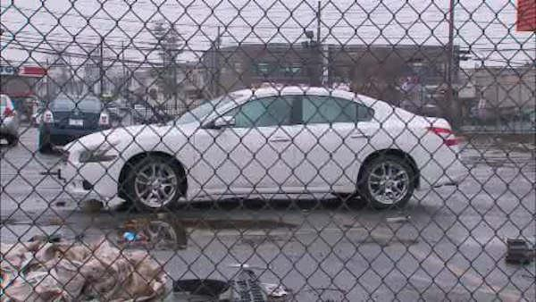 Car swamped after lease ends by Sandy