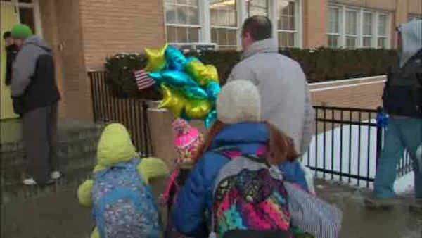 Queens school reopens after Superstorm Sandy