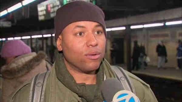 Harlem cabbie rescues man who falls on subway tracks