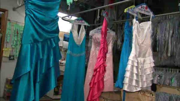 Prom dresses collected for teen Sandy victims