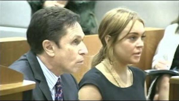 Lindsay Lohan returns to court