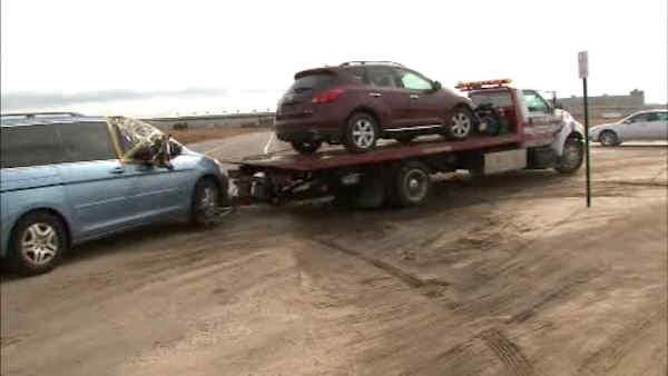 NJ to sell salvaged vehicles damaged by Superstorm Sandy