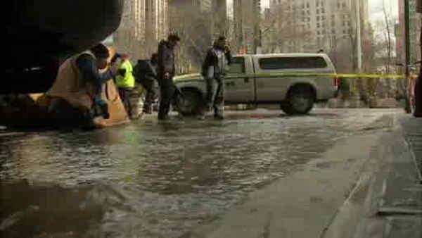Water Main break causing delays near 23rd street