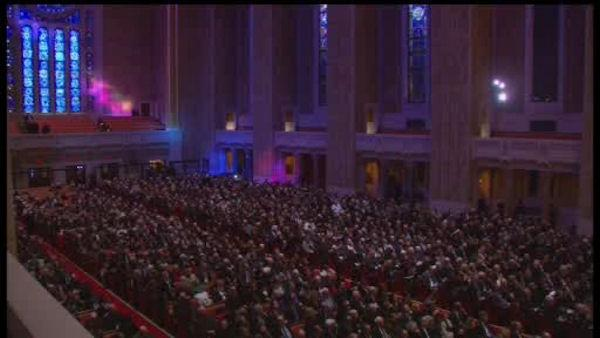 Funeral for former New York City Mayor Ed Koch