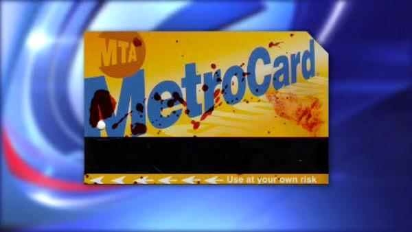 Subway safety campaign features bloody MetroCards