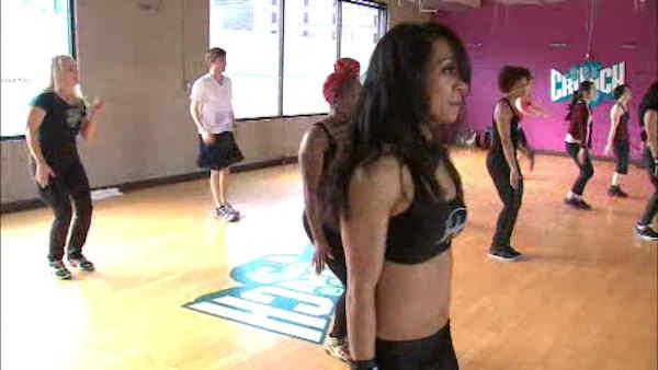 On the dance floor with the Brooklynettes