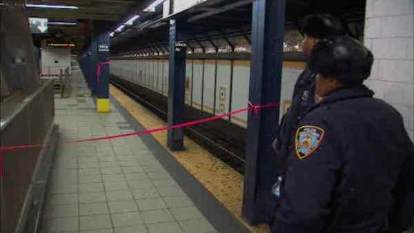 Subway train kills woman who fainted