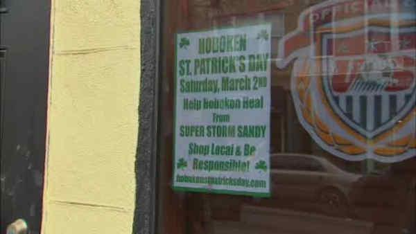 Hoboken businesses want St. Patty's parade for Sandy relief