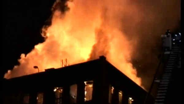 Fire damages building at Pratt Institute