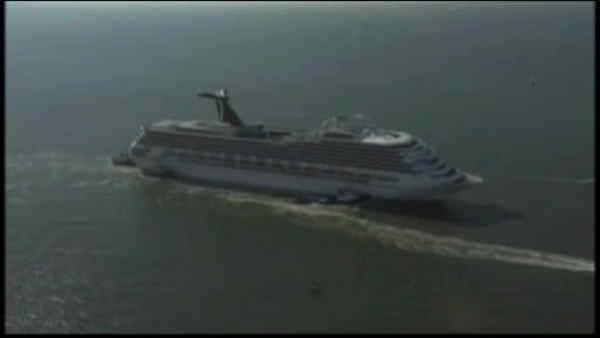 Back on land, cruise passenger begin journey home