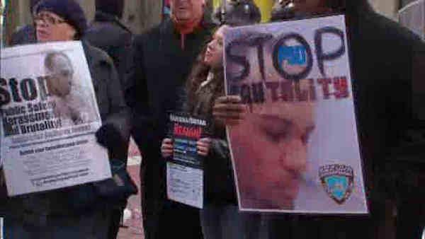 Protest held against Roosevelt Island Peace Officers