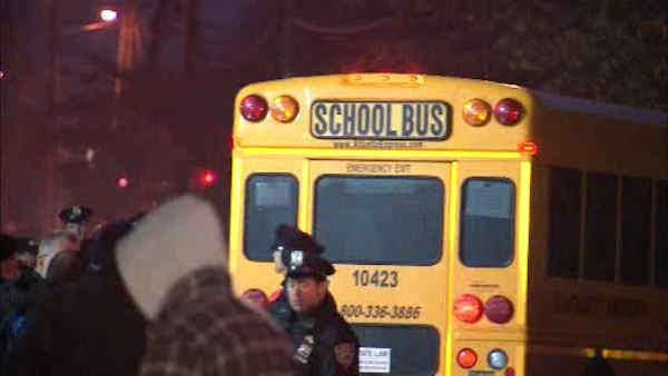 School buses ready to roll again in New York City