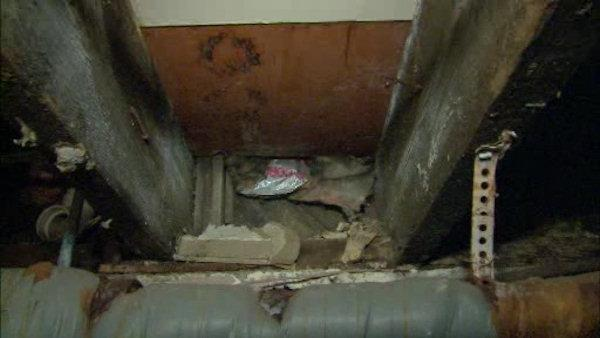 Homes affected by Sandy battle mold