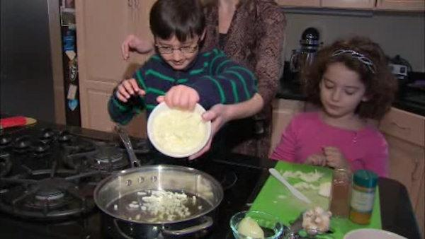 Teaching kids to cook to form healthy habits