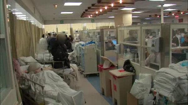 Emergency room struggles to recover after Sandy
