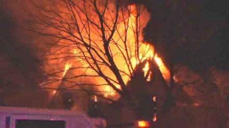suspicious fire in bellport, long island