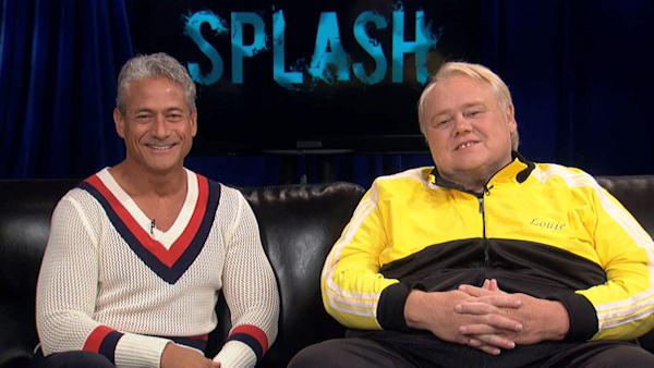 Greg Louganis and Louie Anderson talk about 'Splash'