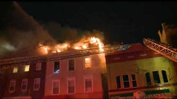 newark apartment building fire