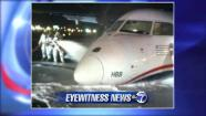 newark emergency landing