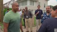 bernie williams helps jersey shore sandy victims