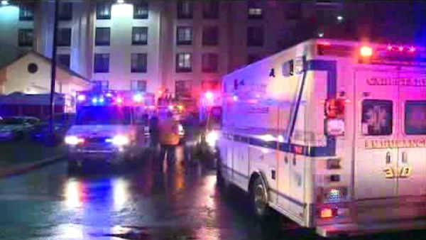 Carbon monoxide leak at New Jersey hotel
