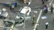 car crash in east village