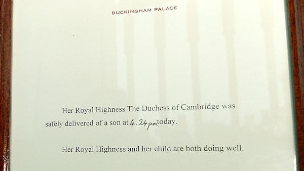 royal baby announcement kate middleton duchess of cambridge