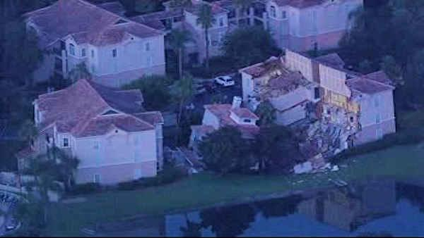 florida summer bay resort swallowed by sinkhole