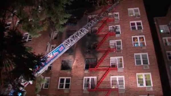 kew gardens queens apartment fire