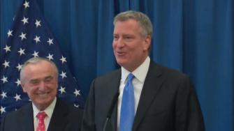 de blasio appoints bratton new police commissioner