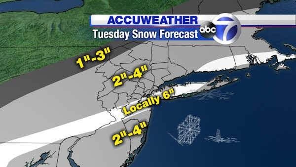 AccuWeather: Tracking the snow