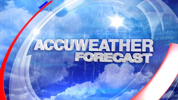 AccuWeather: Warmer for now